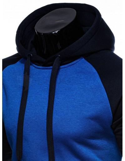 Men's hoodie B1178 - blue