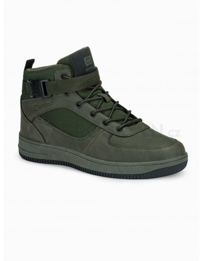 Men's sneakers T317 - green