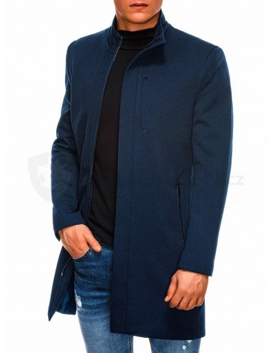 Pánský podzimní kabát C430 - námořnická
