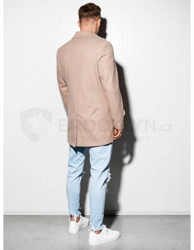 Men's oversize coat C429 - beige