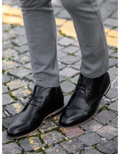 Pánská kotníková obuv T319 - černá