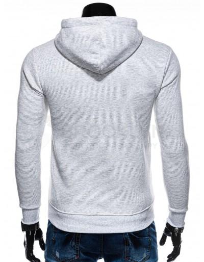 Men's hoodie B1195 - white