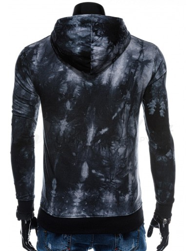 Men's hoodie  B1204 - black