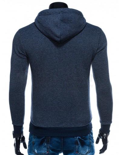 Men's hoodie B1170 - navy