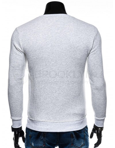 Men's plain sweatshirt B1196 - white