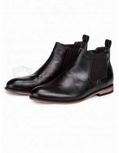 Men's ankle boots T321 - black