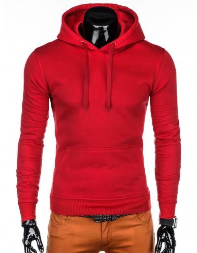 Men's hoodie B873 - red