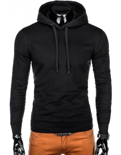 Men's hoodie B873 - black