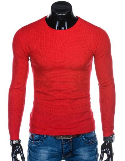 Men's sweater E175 - red