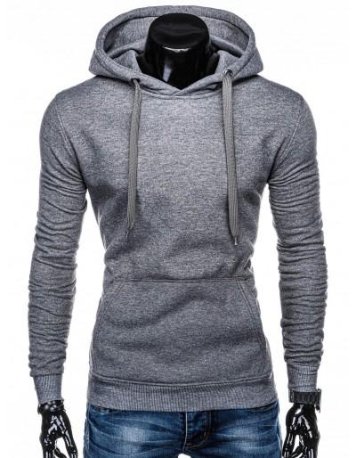 Men's hoodie B873 - dark grey