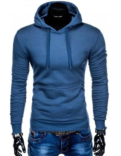 Men's hoodie B873 - blue