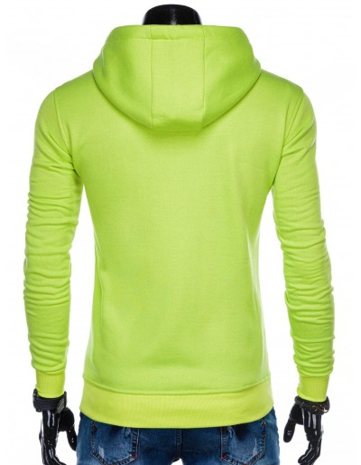Men's hoodie B873 - lemon
