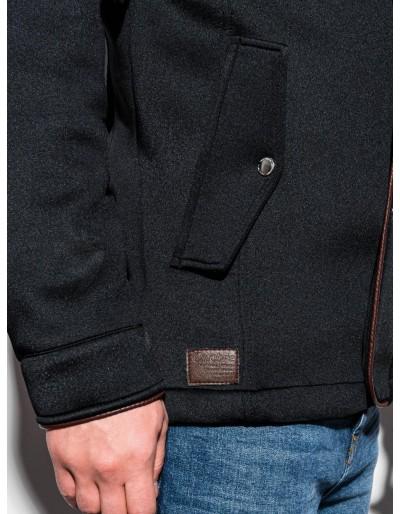 Men's hooded coat C200 - black