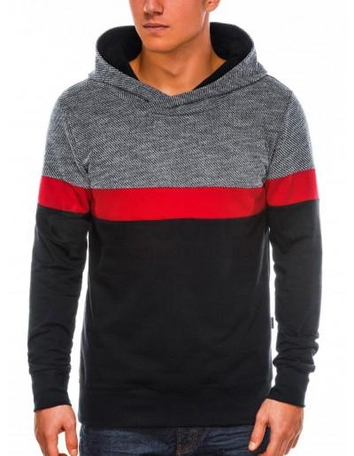 Men's hooded sweatshirt B1018 - black