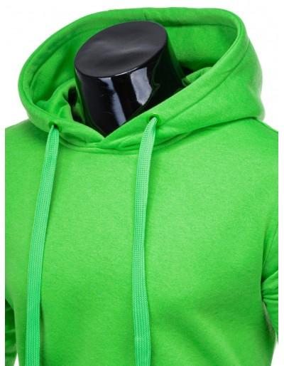 Men's hoodie B873 - green