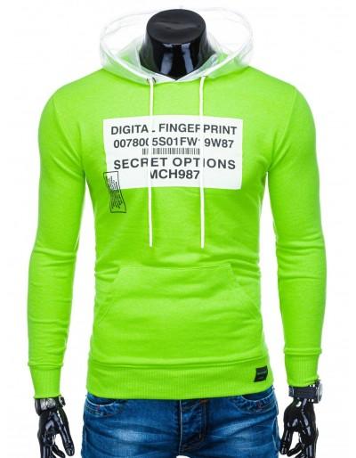 Men's hoodie B1142 - green