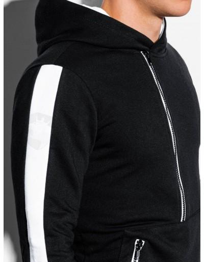 Men's hooded sweatshirt B1019 - black