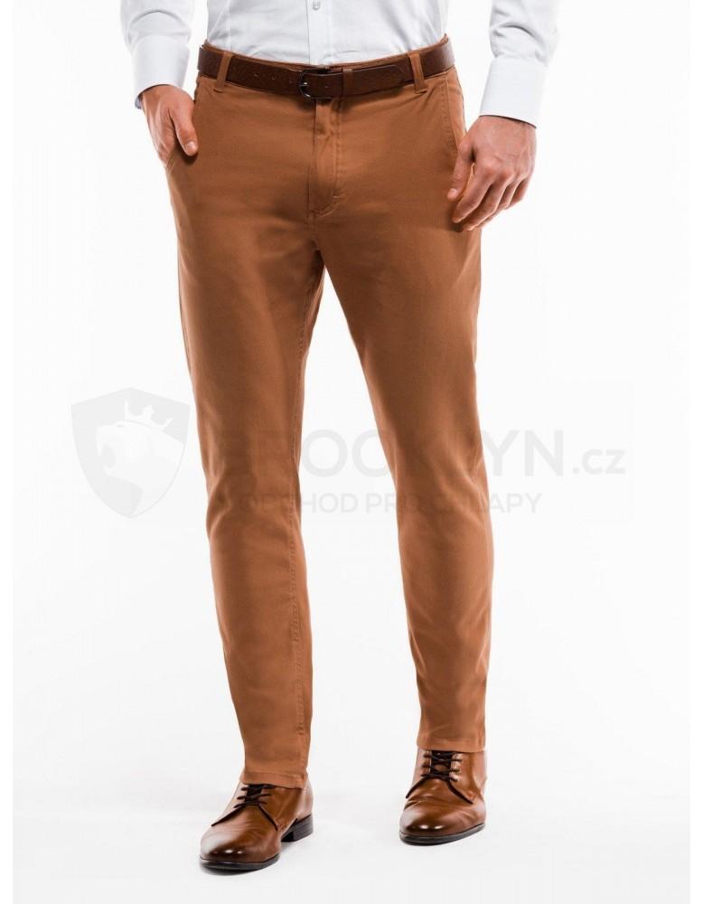 Pánské kalhoty chinos P853 - béžové