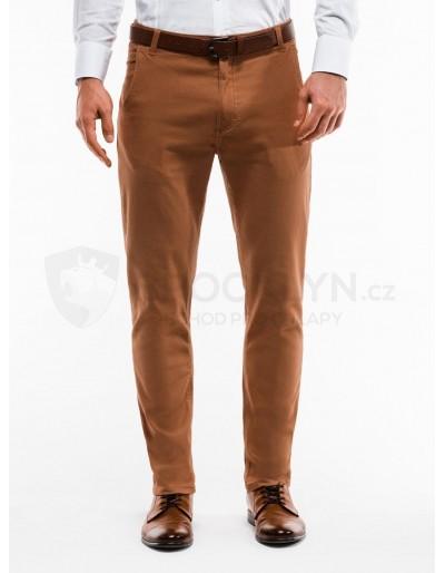 Men's pants chinos P853 - beżowe