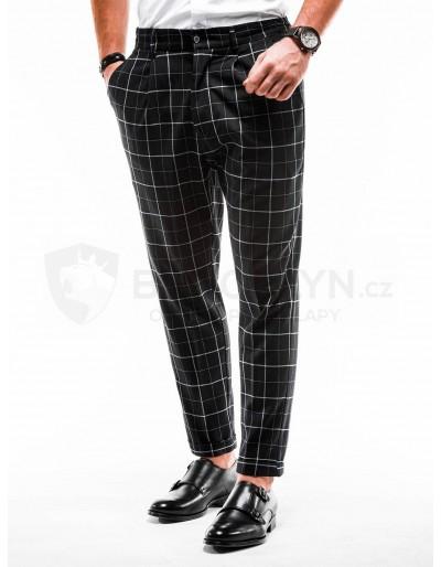 Pánské kalhoty chinos P884 - černé