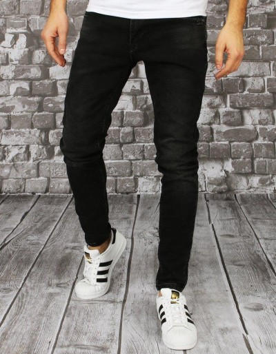 Černé pánské džínové kalhoty UX2849