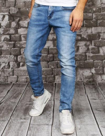Pánské modré džínové kalhoty UX2850