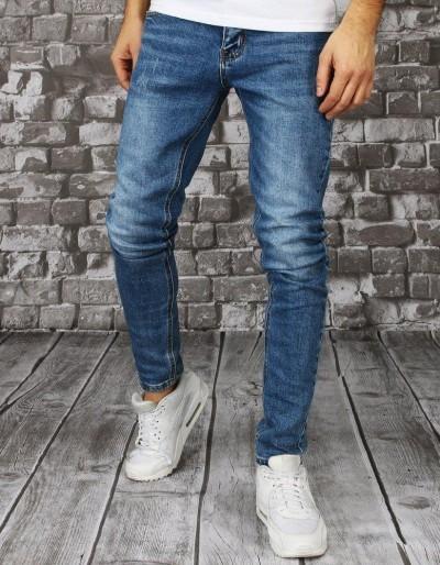 Modré pánské džínové kalhoty UX2851