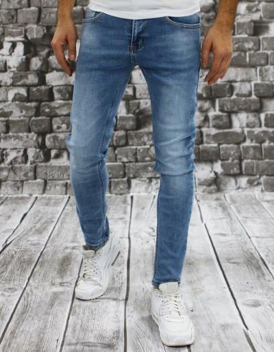 Pánské modré džínové kalhoty UX2854