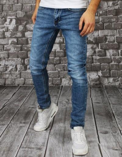 Pánské modré džínové kalhoty UX2856