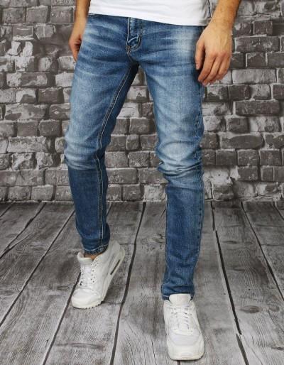 Pánské modré džínové kalhoty UX2857