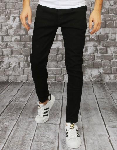 Černé pánské riflové kalhoty UX2857