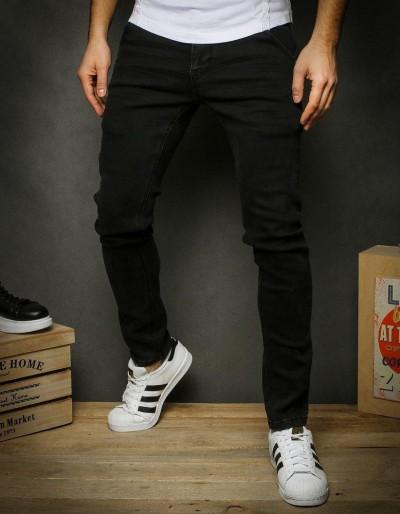 Černé pánské riflové kalhoty UX2358