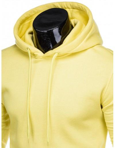 Men's hoodie B873 - yellow