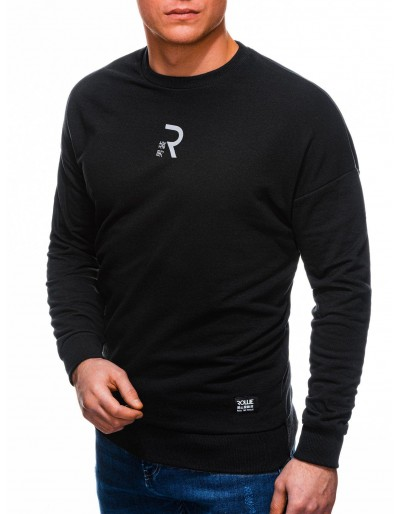 Men's sweatshirt B1231 - black