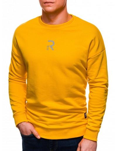Pánská mikina B1231 - žlutá
