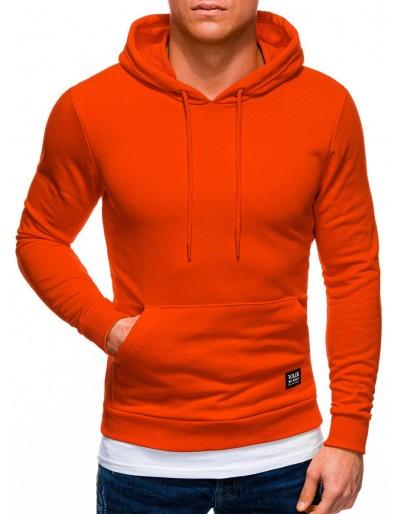 Pánská mikina B1237 - oranžová