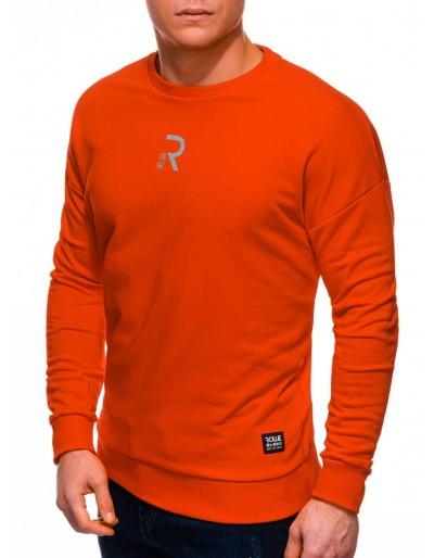 Pánská mikina B1231 - oranžová
