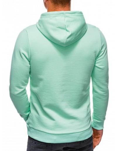 Men's hoodie B1227 - mint