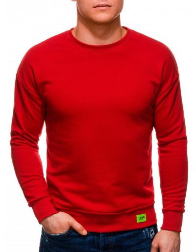 Pánská mikina B1228 - červená