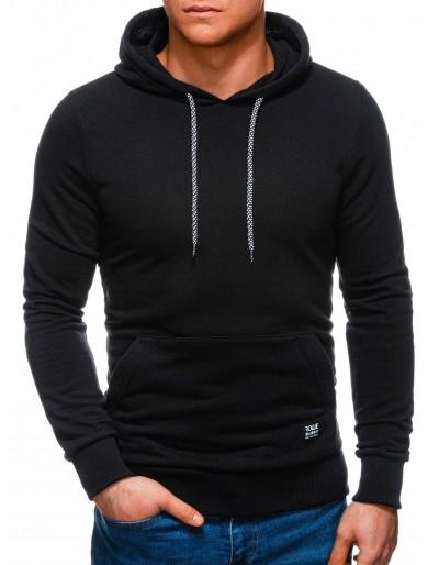 Men's hoodie B1227 - black