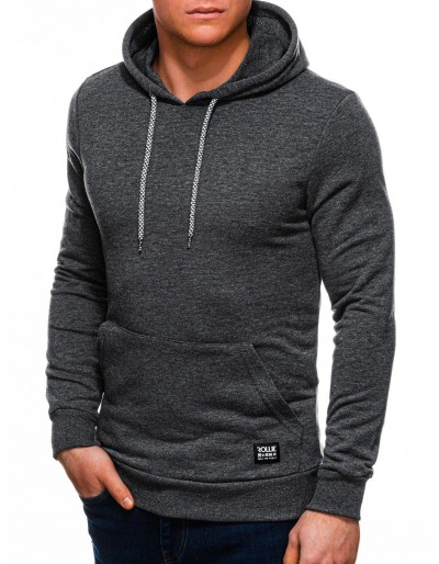 Men's hoodie B1227 - dark grey
