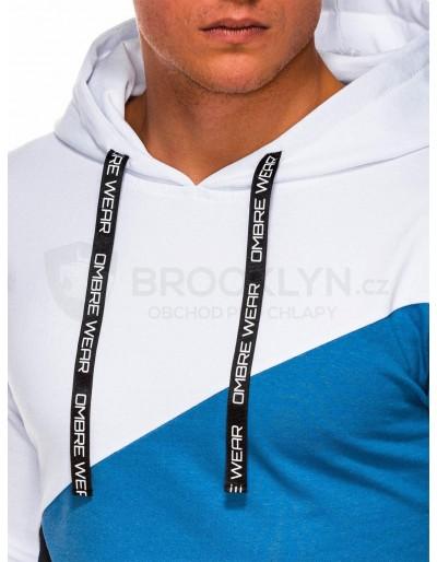 Men's hoodie B1050 - blue