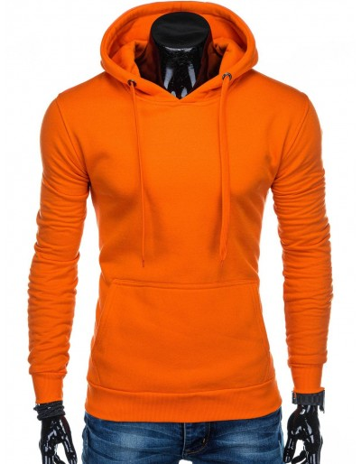 Pánská mikina B873 - oranžová
