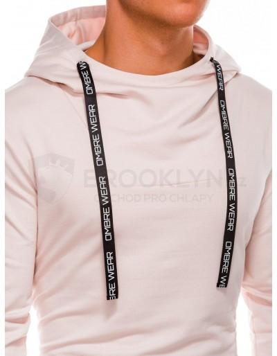 Men's hoodie B1052 - powder pink