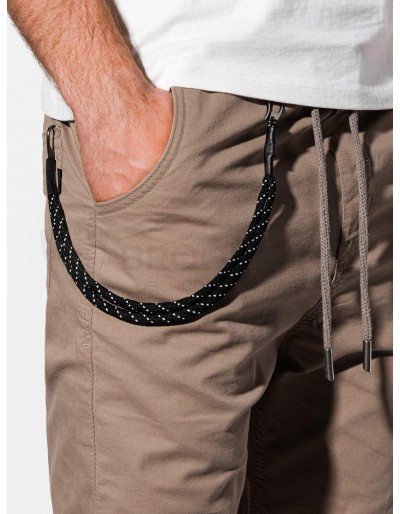 Men's pants joggers P908 - beige