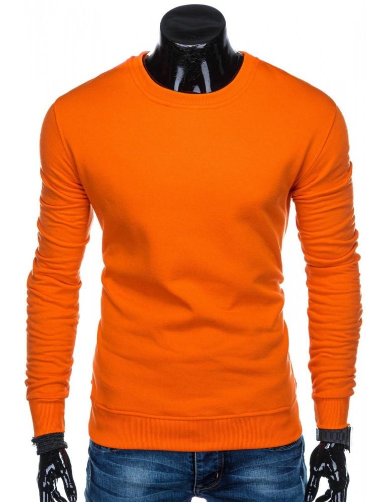 Pánská mikina B874 - oranžová