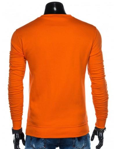 Men's sweatshirt B874 - orange