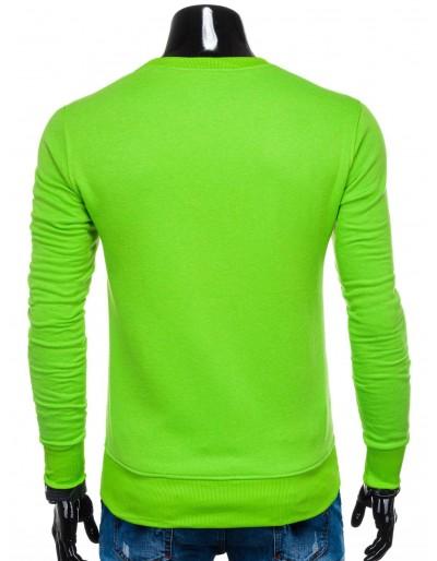 Men's sweatshirt B874 - green