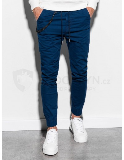 Men's pants joggers P908 - navy