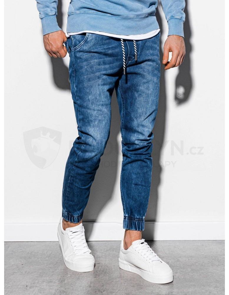 Pánské riflové kalhoty P907 - modré